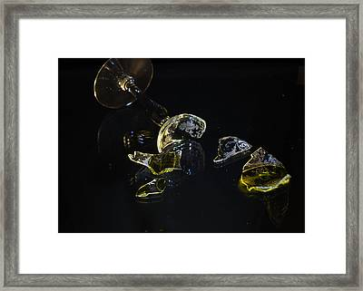 Framed Print featuring the photograph Shattered Illusions by Susan Capuano