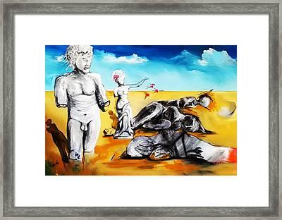 Shattered Limbs To Shattered Souls Framed Print