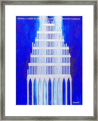 Framed Print featuring the painting Shattered  by Mordecai Colodner