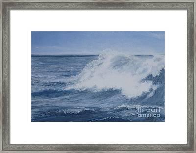 Shattered Water Framed Print