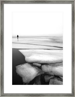 Shattering Framed Print by Espen Mikkelborg