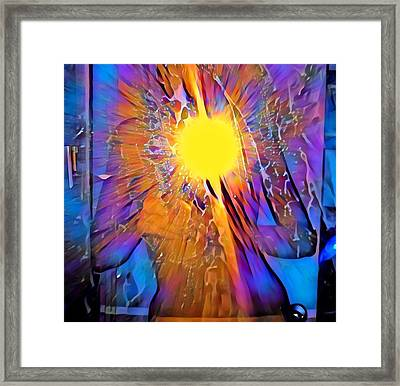 Shattering Perceptions   Framed Print