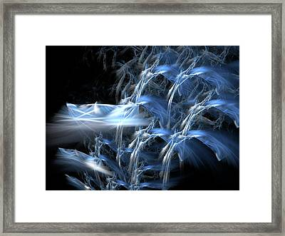 Shattering The Cosmos Framed Print by Jeremy Nicholas