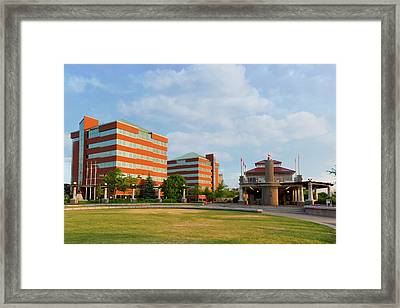 Framed Print featuring the photograph Shattuck Park by Joel Witmeyer