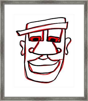 Shaun Framed Print