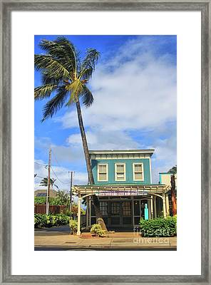 Framed Print featuring the photograph Shave Ice by DJ Florek