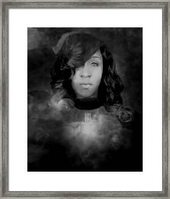 Shavon Portrait Framed Print