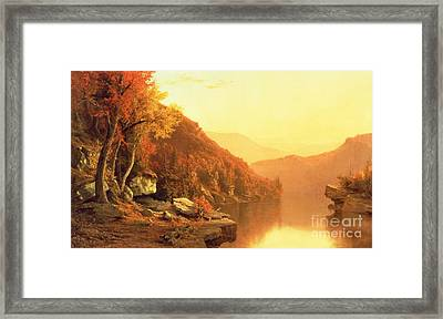 Shawanagunk Mountains Framed Print