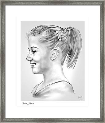 Shawn Johnson Framed Print