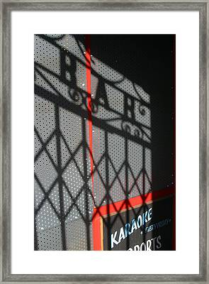 Shbar Framed Print by Jez C Self