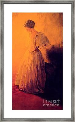 She Danced Framed Print