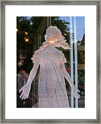 She Dreamed Of Heaven Framed Print by Elizabeth Hoskinson