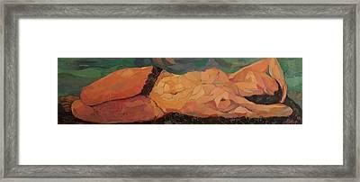 She Framed Print by GALA Koleva