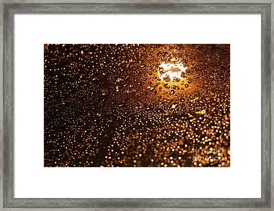 She Gracefully Surrenders Framed Print by Sharon Mau