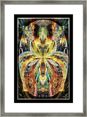 She Is A Mosaic Framed Print