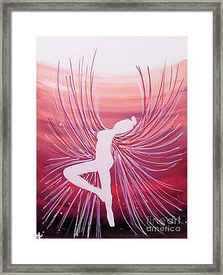 She Is Clothed In Strength Framed Print by Jilian Cramb - AMothersFineArt