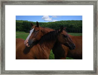 She Is Mine Framed Print by Karol Livote