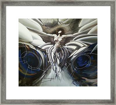 She Is The Universe Framed Print