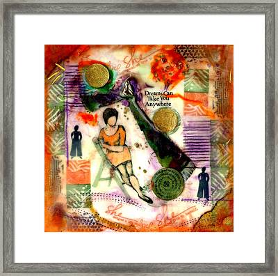 She Remained True Framed Print by Angela L Walker