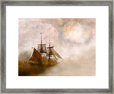 She Returns Home Framed Print by Jeff Burgess