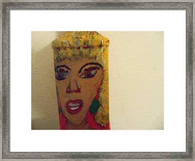 She Rocks Framed Print by Rhonda Jackson