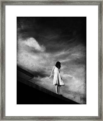 She Said Goodbye To The Gound Framed Print by Dylan Murphy