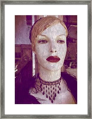 She Sees You Framed Print by Tamara Lee Madden