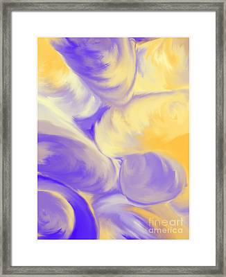 She Sells Sea Shells Framed Print