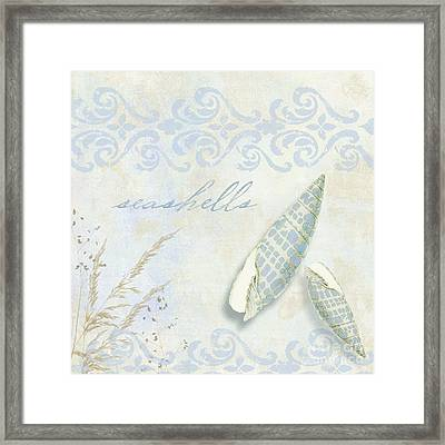 She Sells Seashells II Framed Print by Mindy Sommers