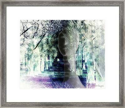 She Thought She's Never Be Alone Again Framed Print