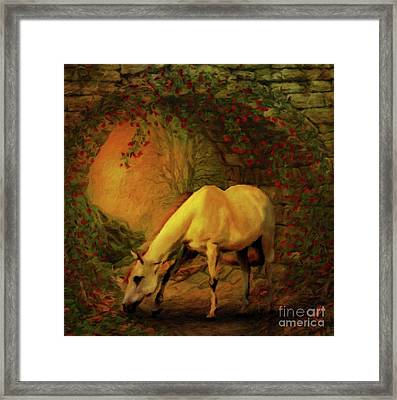 She Was My True Friend By Sarah Kirk Framed Print