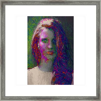 She Was The Help And Caught Osama In Framed Print