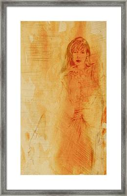 She Was Framed Print
