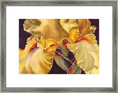She Wore Yellow Framed Print
