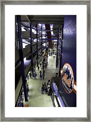 Shea Stadium Walkways Framed Print