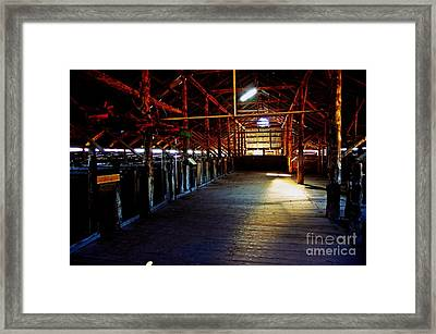 Shearing Shed From A Bygone Era Framed Print by Blair Stuart