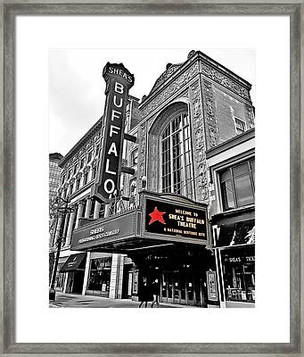 Shea's Buffalo Theater Framed Print
