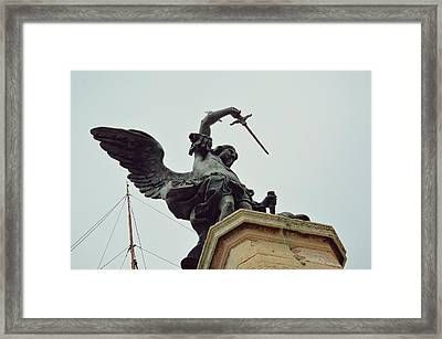 Sheathing His Sword Framed Print by JAMART Photography
