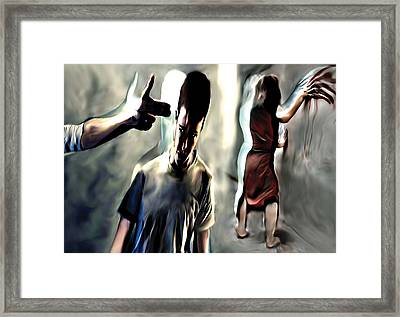 Sheattle-athens Framed Print by Naikos N