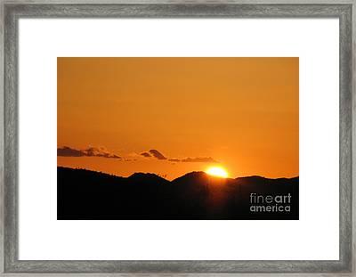 Shed Light On Framed Print