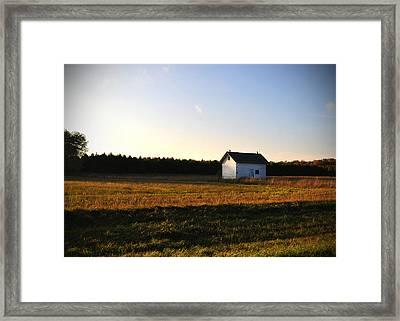 Shed Framed Print