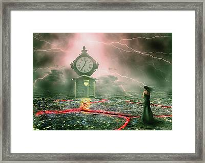Shed Of Dimensions Framed Print
