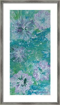 Shades Of Blue 2 Framed Print