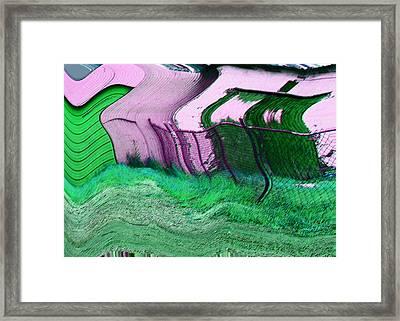 Sheds Framed Print