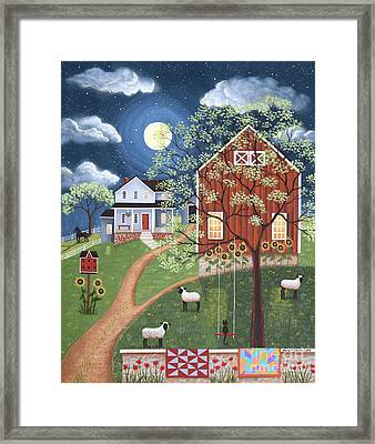 Sheep Hill Farm Framed Print