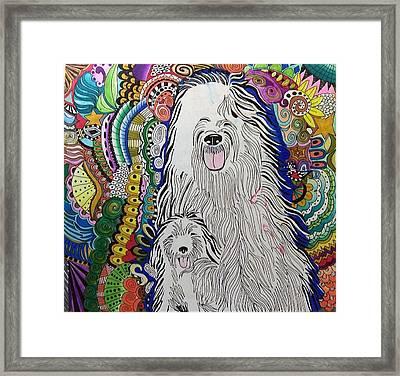 Sheepdog Framed Print
