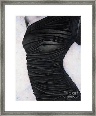 Sheer Embrace Framed Print