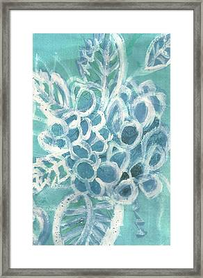 Sheer Pleasure  Framed Print by Anne-Elizabeth Whiteway