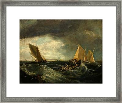 Sheerness And The Isle Of Sheppey Framed Print