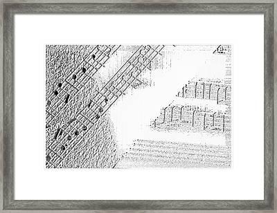 Sheet Music Framed Print